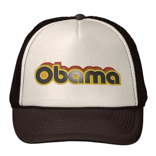Funky Obama Trucker Hat