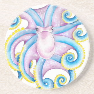 Funky Octopus Coaster
