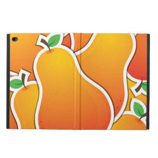Funky orange pear