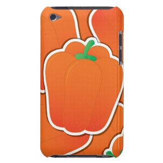 Funky orange pepper Case-Mate iPod touch case