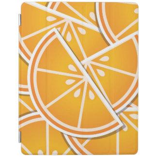 Funky orange wedges iPad cover