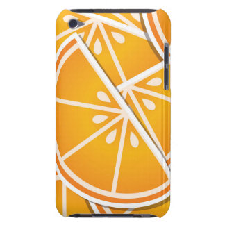 Funky orange wedges iPod touch covers