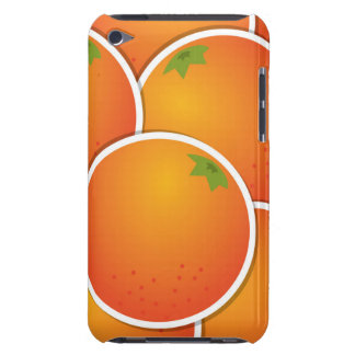 Funky oranges iPod touch cases