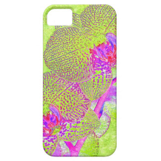 funky orchid iphone case