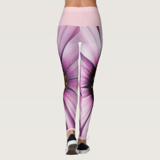 Funky Osteospermum flower Leggings