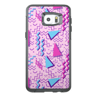 Funky Pastel Pink Memphis Design OtterBox Samsung Galaxy S6 Edge Plus Case