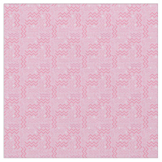 Funky Pastel Pink Memphis Designmemphis,loud,funky Fabric