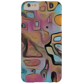 Funky Pastel Psychedelic Barely There iPhone 6 Plus Case