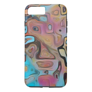 Funky Pastel Psychedelic iPhone 8 Plus/7 Plus Case