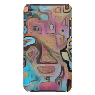 Funky Pastel Psychedelic iPod Case-Mate Cases