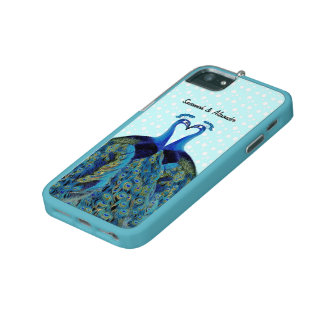 Funky Peacock Feather Pattern iPhone 5s Case iPhone 5/5S Case