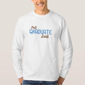 Funky PhD Graduate 2016 (Blue) Shirt