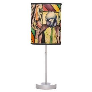 funky pigeon lamp