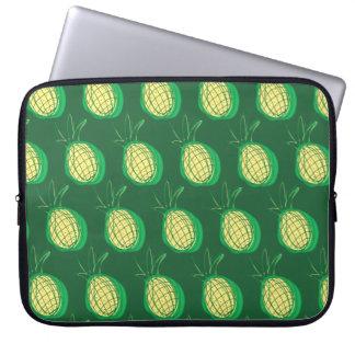 Funky pineapples laptop sleeve
