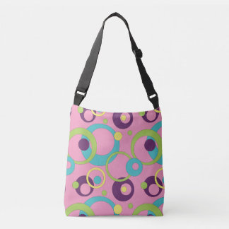 Funky Pink Circles All-Over-Print Bag