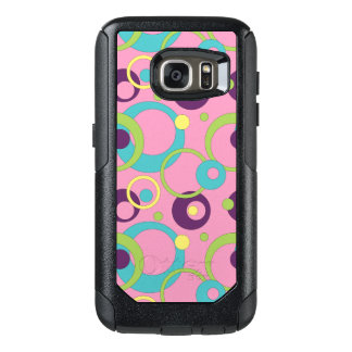 Funky Pink Circles Otterbox Phone Case