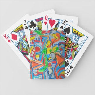 Funky playing cards