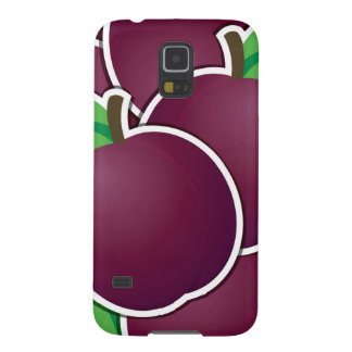 Funky plum galaxy s5 cover