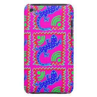 Funky Polka Dot Lizard Pattern Animal Designs iPod Touch Covers