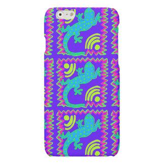 Funky Polka Dot Lizard Pattern iPhone 6 Case
