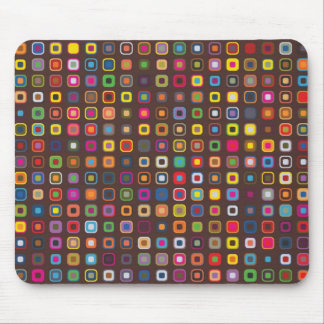 Funky PolkaSquare Mouse Pad