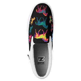 Funky Ponies Colt Pattern WildHerdz Loafers Slip-On Sneakers