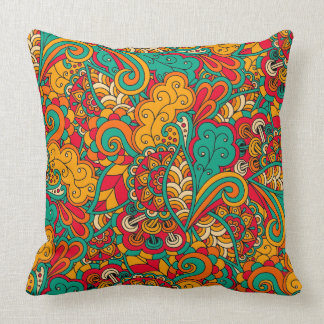 Funky Psychedelic 2_pillow Throw Pillow