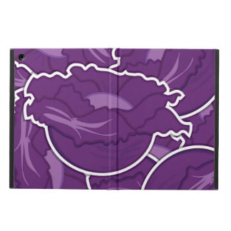 Funky purple cabbage iPad air cases