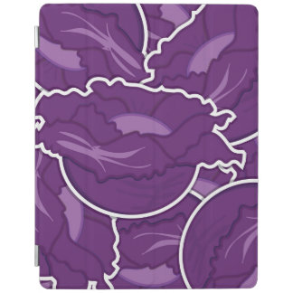 Funky purple cabbage iPad cover