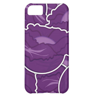 Funky purple cabbage iPhone 5C cover