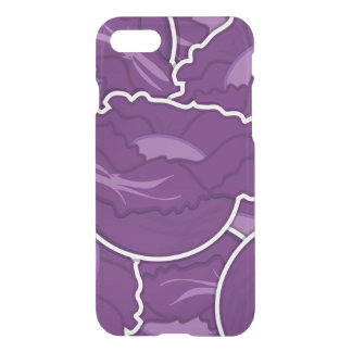 Funky purple cabbage iPhone 7 case