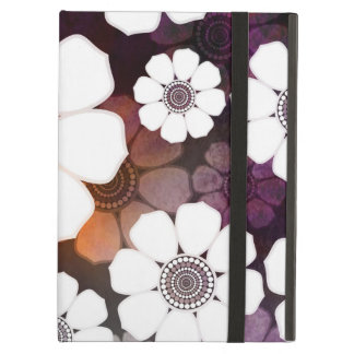 Funky Purple Flower Power Cover For iPad Air