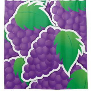Funky purple grapes