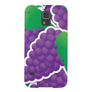 Funky purple grapes galaxy s5 covers