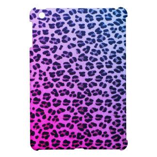 Funky Purple Leopard Print iPad Mini Case