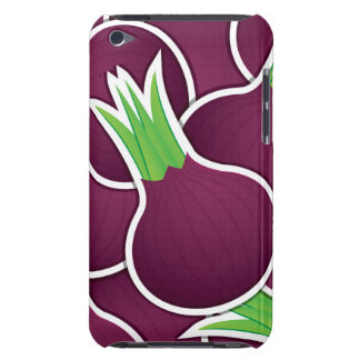 Funky purple onions Case-Mate iPod touch case