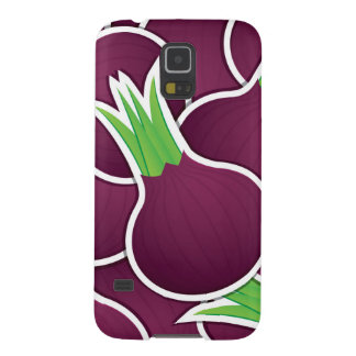 Funky purple onions galaxy s5 covers