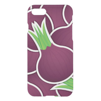 Funky purple onions iPhone 7 case
