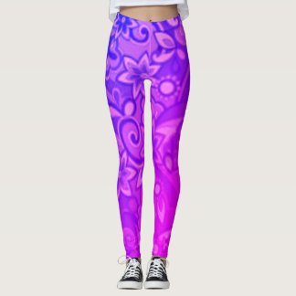 Funky Purple Pucci Leggings