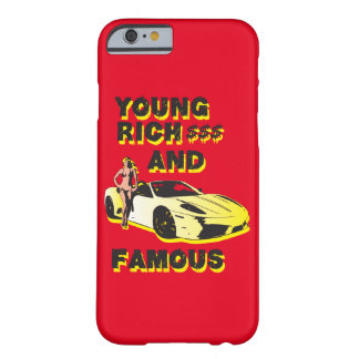 funky quotes young rich & famous iphone cover