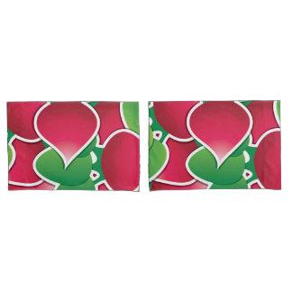 Funky radish pillowcase