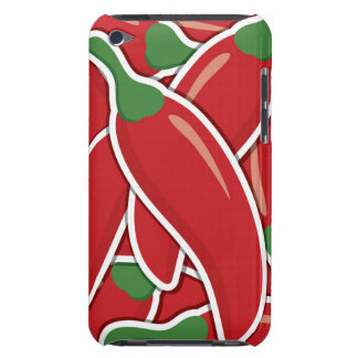Funky red chilli peppers iPod touch covers