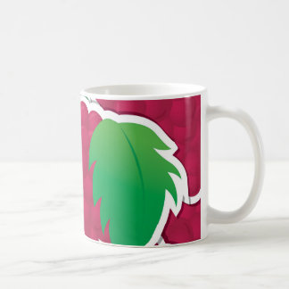 Funky red grapes coffee mug