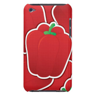 Funky red pepper iPod touch cover