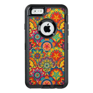 Funky Retro Colorful Mandala Pattern OtterBox iPhone 6/6s Case