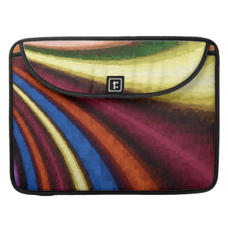 funky retro colorful pattern sleeve for MacBooks