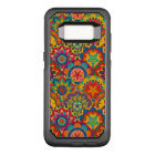 Funky Retro Colourful Mandala Pattern OtterBox Commuter Samsung Galaxy S8 Case