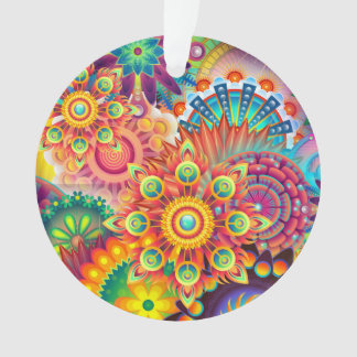 Funky Retro Pattern Abstract Bohemian