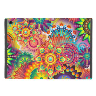 Funky Retro Pattern Abstract Bohemian Cover For iPad Mini