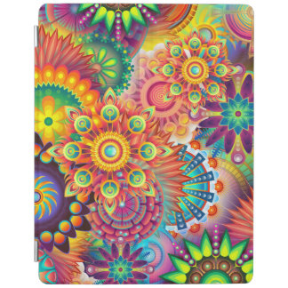 Funky Retro Pattern Abstract Bohemian iPad Cover